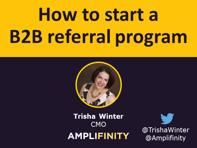 How to Start a B2B Referral Program