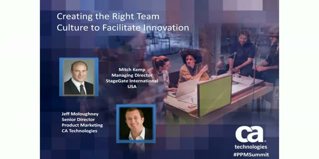 Creating the Right Team Culture to Facilitate Innovation - 1 PDU
