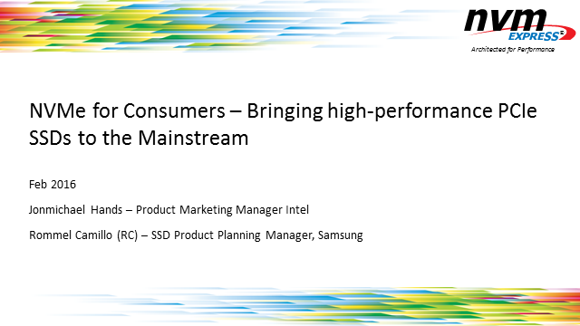 NVM Express for Consumers: Bringing High-performance PCIe SSDs to the Mainstream