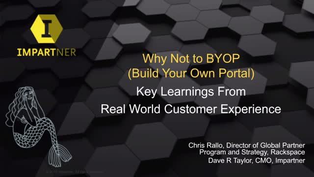 Why Not to BYOP (Build Your Own Portal): Rackspace Talks You Off The Ledge