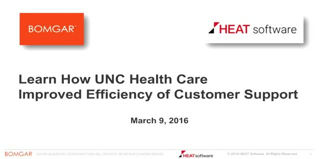 Learn How UNC Health Care Improved Efficiency of Customer Support