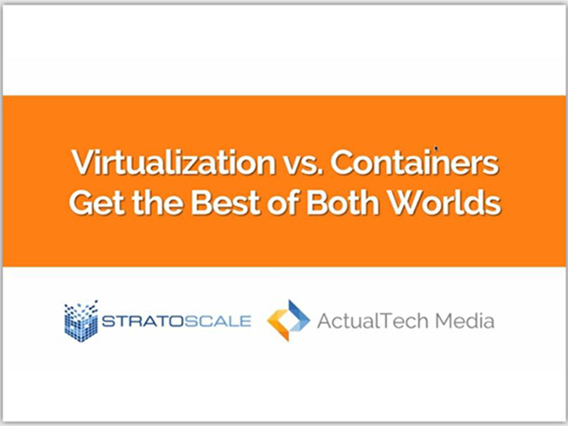 Virtualization vs Containers. The Best of Both worlds