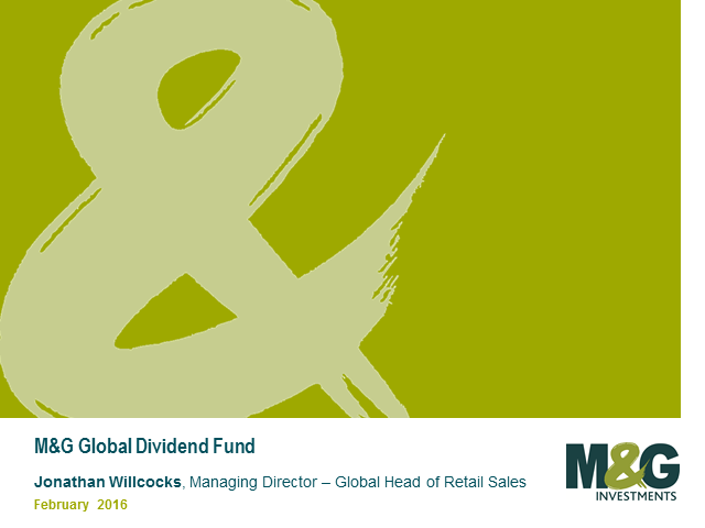 M&G Global Dividend Fund Webcast with Stuart Rhodes