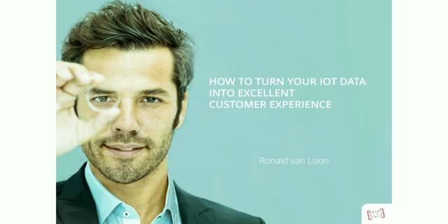 How to turn your IoT data into excellent customer experience