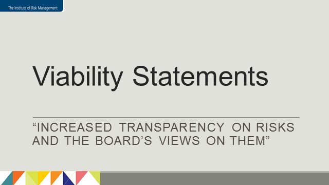 The Viability Statement