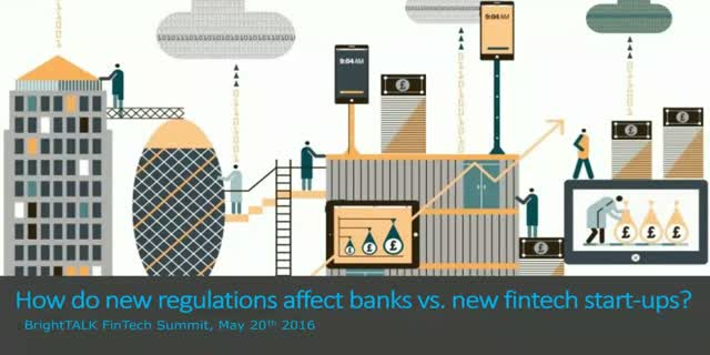 How do new regulations affect banks vs. new fintech start-ups?