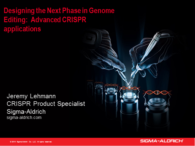 Designing the Next Phase in Genome Editing: Advanced CRISPR Applications