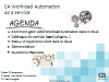 Transformation d'infrastructure : comment positionner le Workload Automation ?