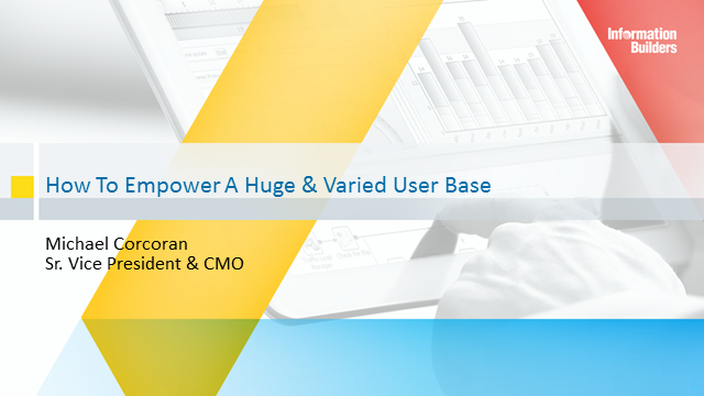 How to Empower a Huge and Diverse User Base With Data and Analytics