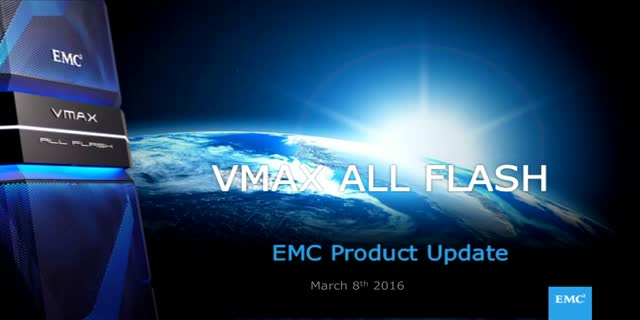 GURU U Technical Webinar: VMAX All Flash