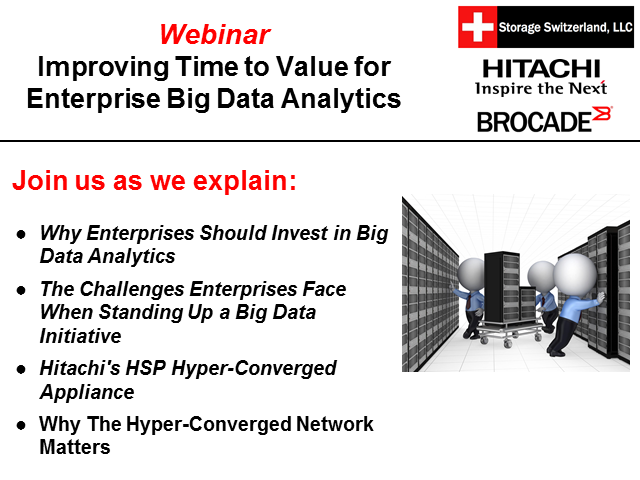Improving Time to Value for Enterprise Big Data Analytics