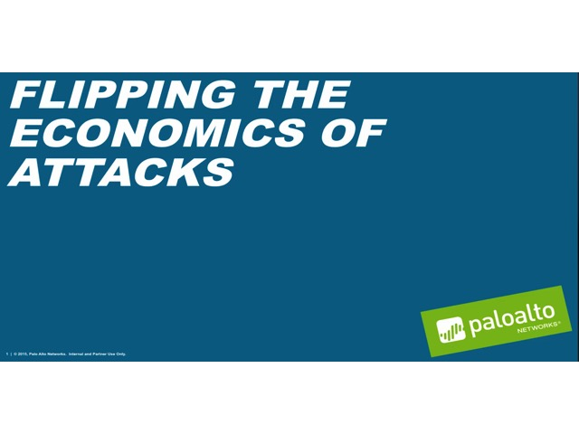 Flipping the Economics of Attacks