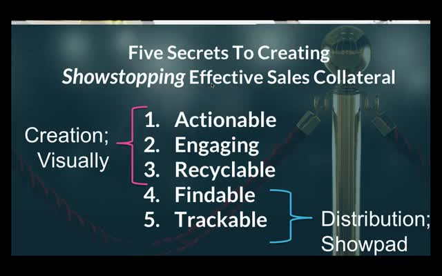 How to Create and Manage Showstopping, Effective Sales Collateral