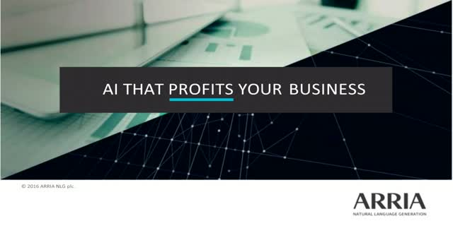 AI that profits your business