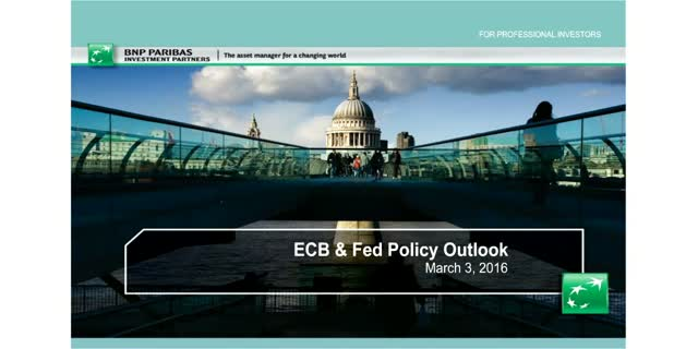 ECB & Fed Policy Outlook Discussion