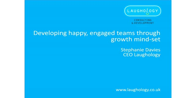 Developing happy, engaged teams that flourish through growth mind-set