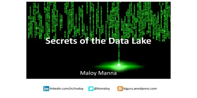 Secrets of the Data Lake