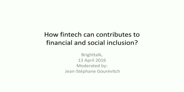 How fintech contributes to economic empowerment, inclusion, and social justice