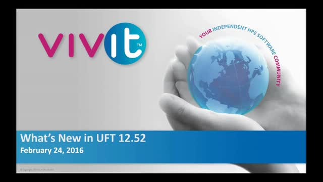 What's New in UFT 12.52