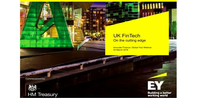 EY Global FinTech Hub Benchmarking Report