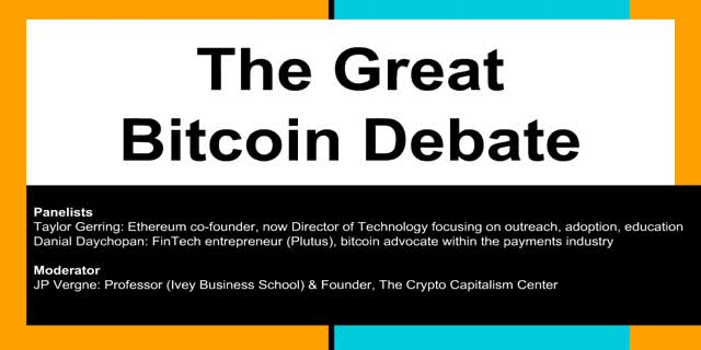 The Great Bitcoin Debate