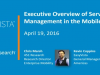 The Executive Overview of Service Management in the Mobile Era