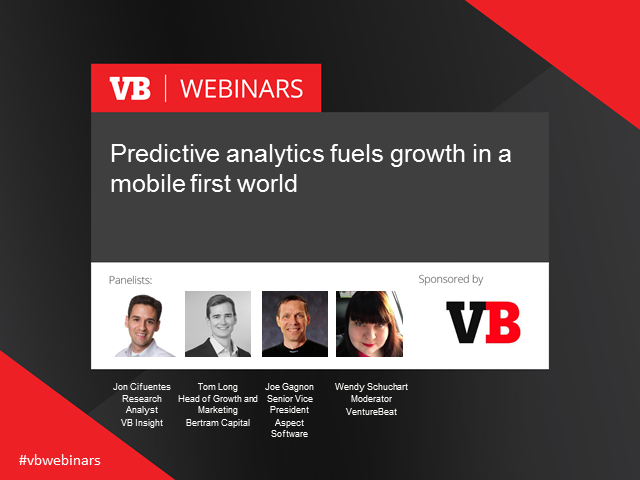 Predictive analytics fuels growth in a mobile first world