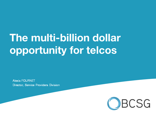 Small Business Cloud Services: the multi-billion dollar opportunity for telcos