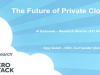 The Future of Private Cloud
