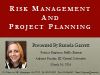 Risk Management and Project Planning
