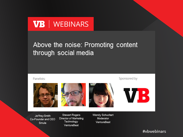 Above the Noise: Promoting content through social media