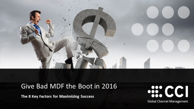 Give Bad MDF the Boot in 2016