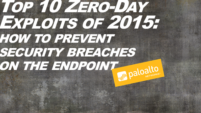 Top 10 Zero-Day Exploits of 2015