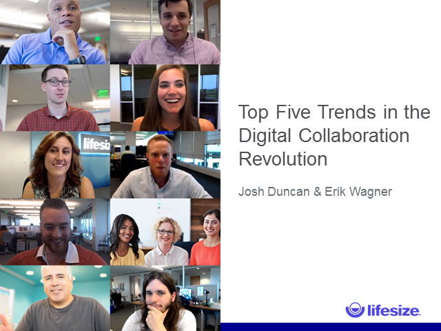 Top 5 Trends in the Digital Collaboration Revolution