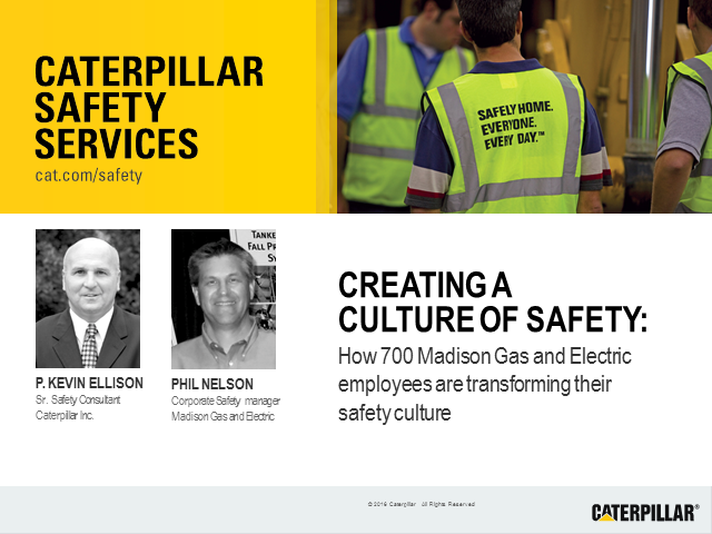 How 700 Madison Gas and Electric employees are transforming their safety culture