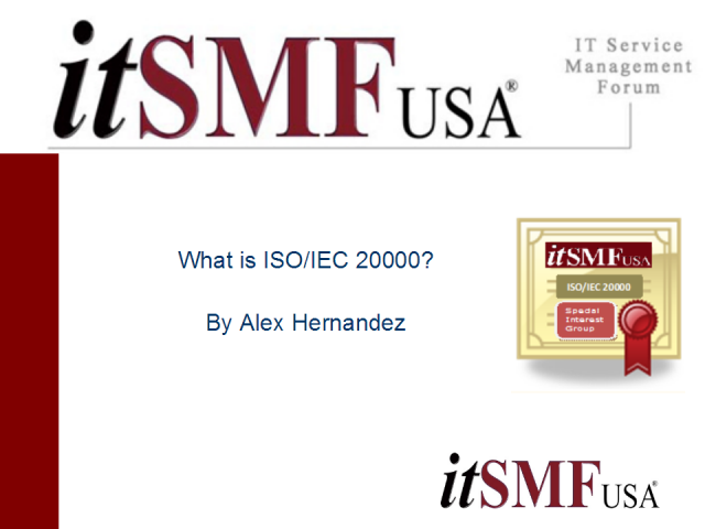 What is ISO/IEC 20000?