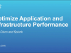 Optimize Application & Infrastructure Performance with Cisco and Splunk