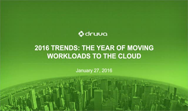 2016: The Year Public Cloud Leaves On-Premise Behind