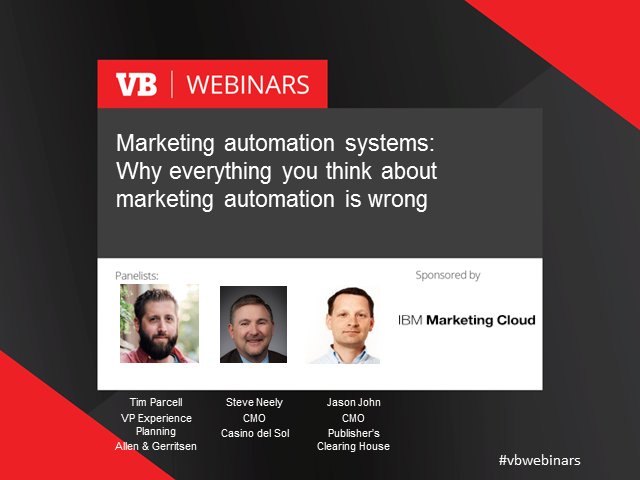 Why everything you think about marketing automation is wrong