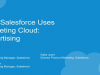 How Salesforce Uses Marketing Cloud: Advertising