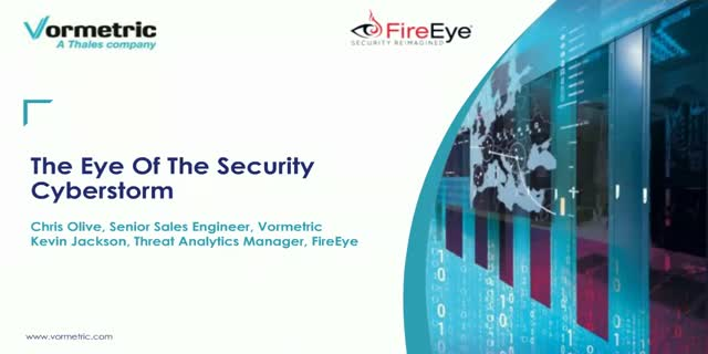 The Eye of The Security Cyberstorm