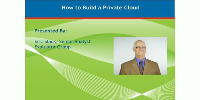 How To Build a Private Cloud