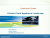 The Private Cloud Appliance Landscape