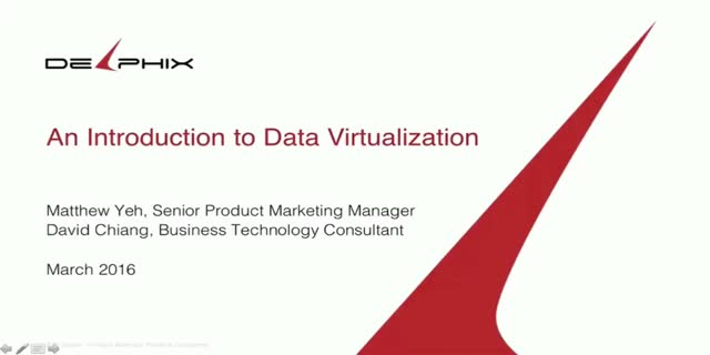 Data Virtualization 101 - An Introduction to Data Virtualization
