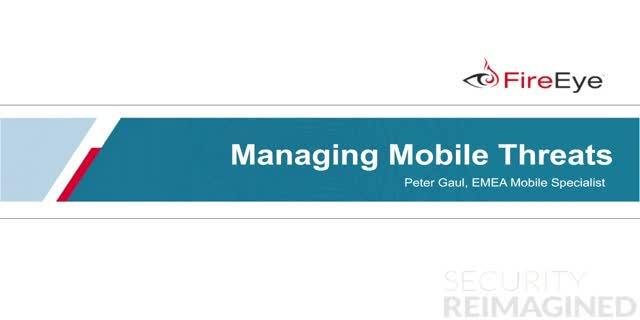 Managing Mobile Threats