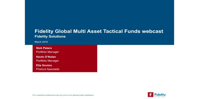 Fidelity Global Multi Asset Tactical Fund
