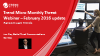 February Monthly Threat Webinar