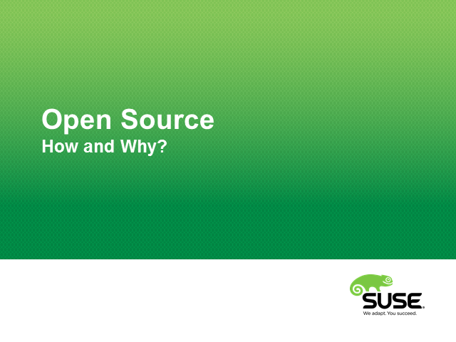 How does open source influence the advancement of technology?