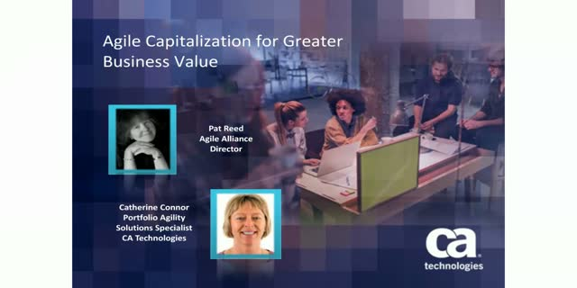 Agile Capitalization for Greater Business Value - 1PDU