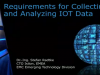 Requirements for Collecting and Analyzing IOT Data